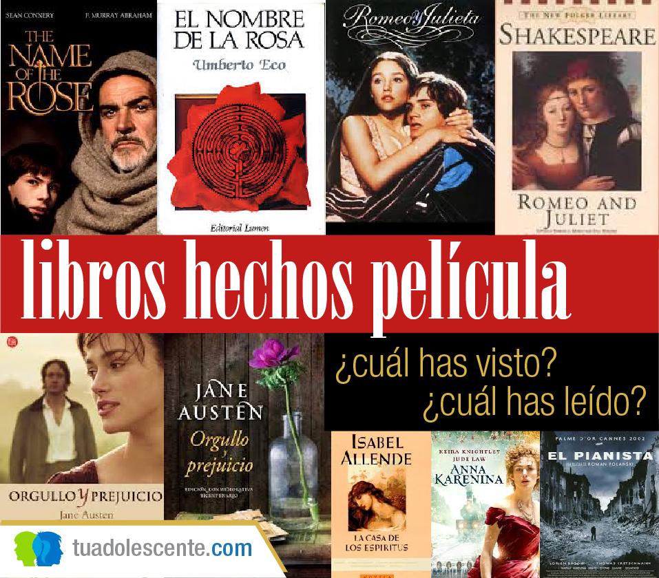 Libros hechos película