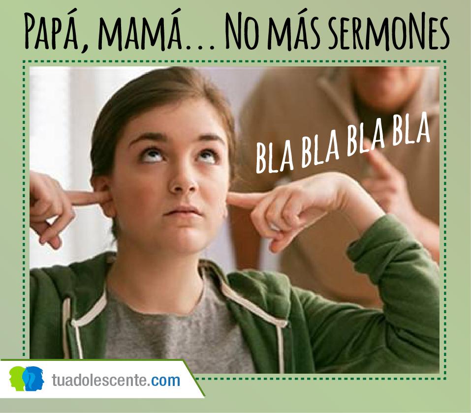 No más sermones comunícate efectivamente con tu adolescente