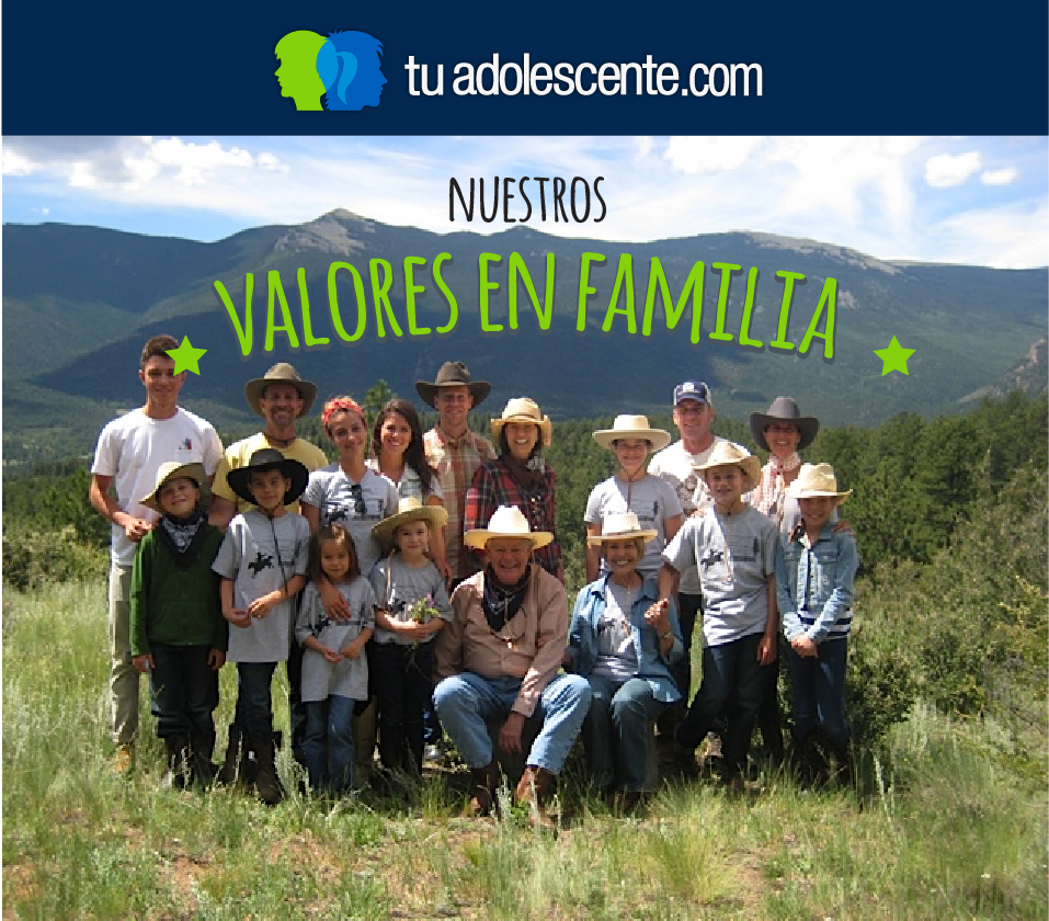 Revisando valores en la familia