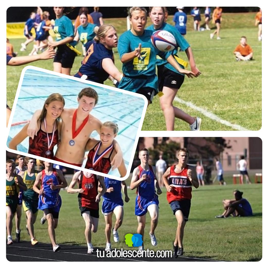 adolescentes deporte