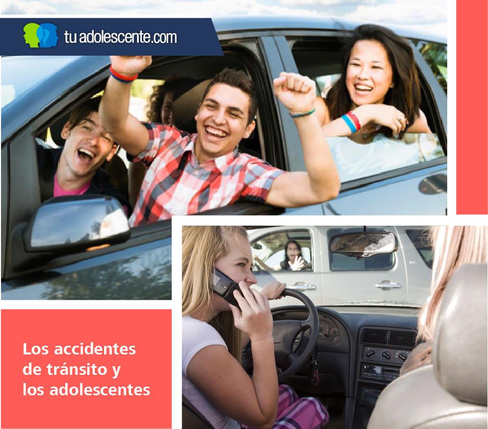 accidentes de adolescentes manejando