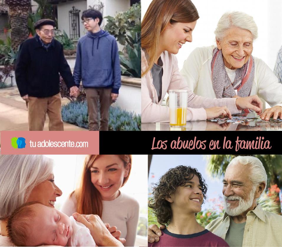 La importancia de los abuelos en la familia