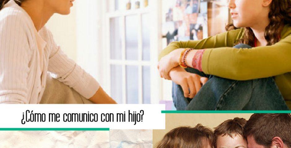 cómo debo comunicarme con mi hijo adolescente
