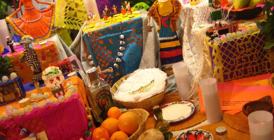 día de muertos y la catrina en México