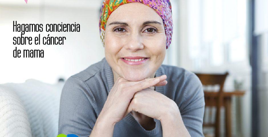 Hagamos conciencia sobre el cáncer de mama
