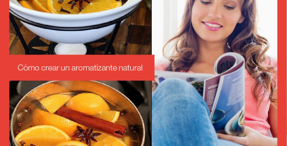 Cómo crear un aromatizante natural
