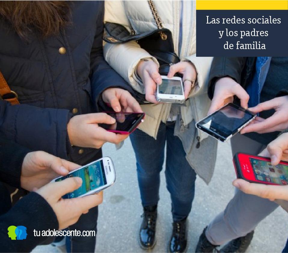 Las redes sociales y los padres de familia