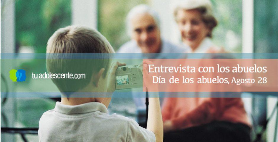 entrevista con los abuelos