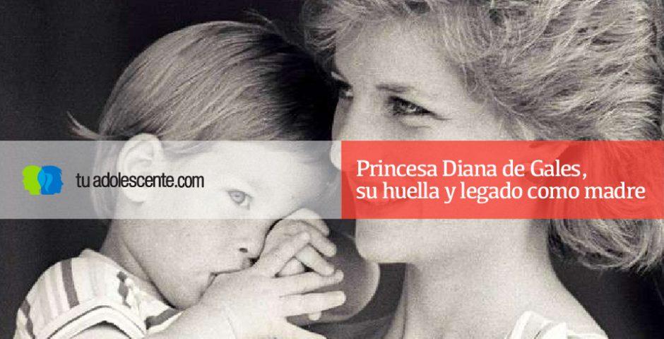 Princesa Diana de Gales, su huella y legado como madre