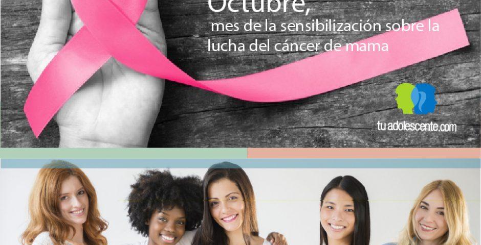 Octubre, lucha contra el cáncer de mama